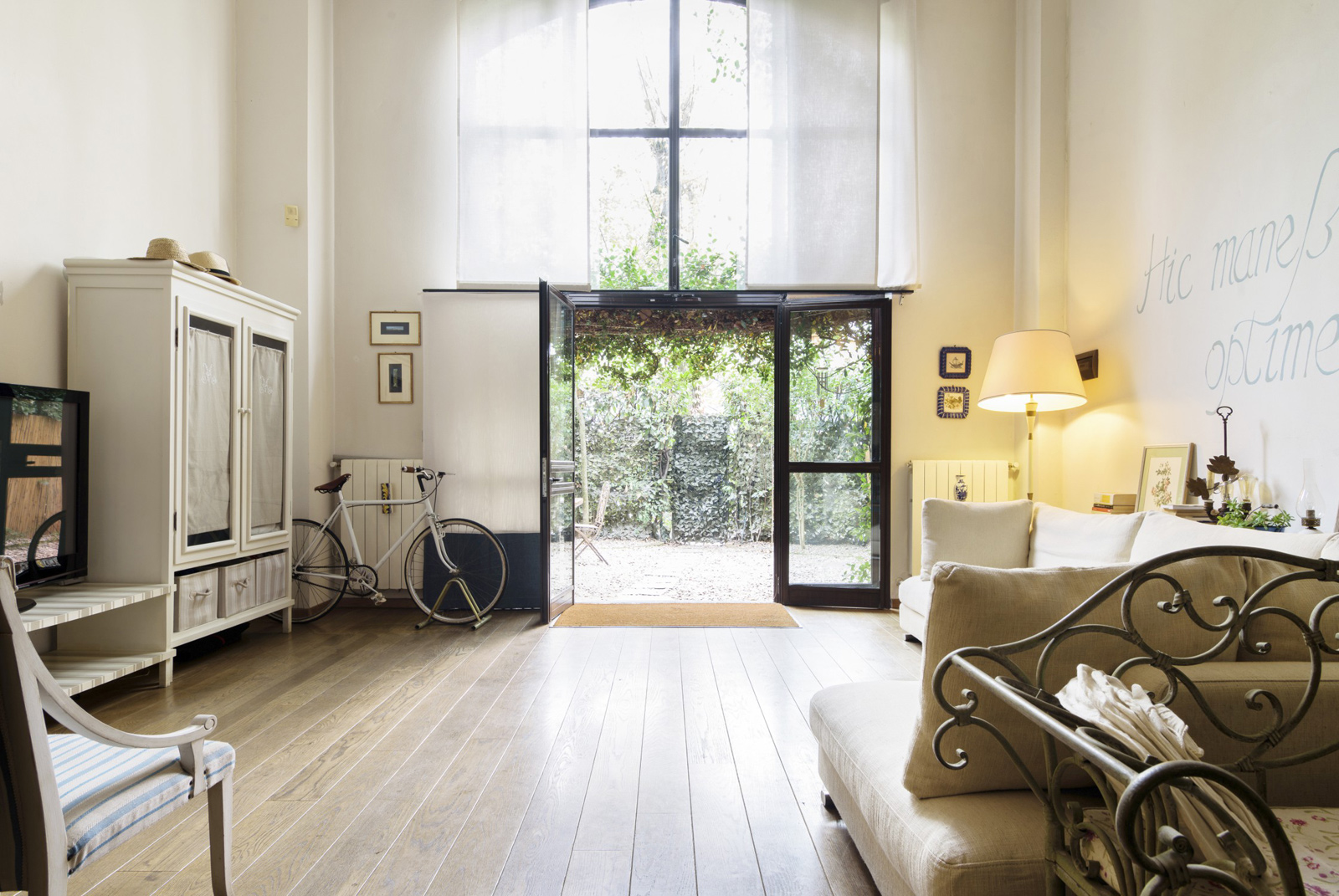 Milan aparment for rent via Airbnb converted convent