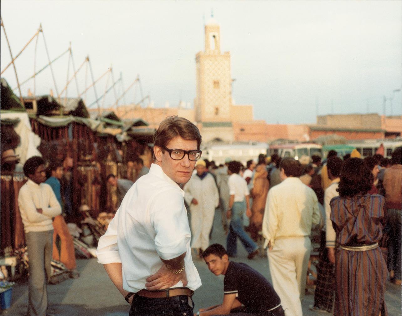 Yves Saint Laurent, Jemaa el-Fnaa square (c) Reginald Gray