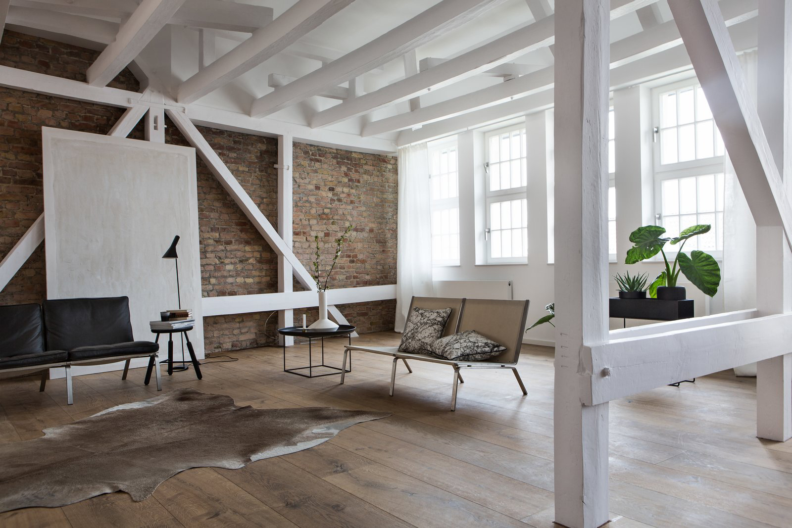 Berlin loft for sale via Fantastic Frank