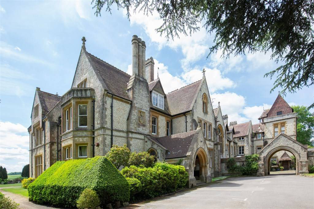 Gothic houses on the market right now: country home