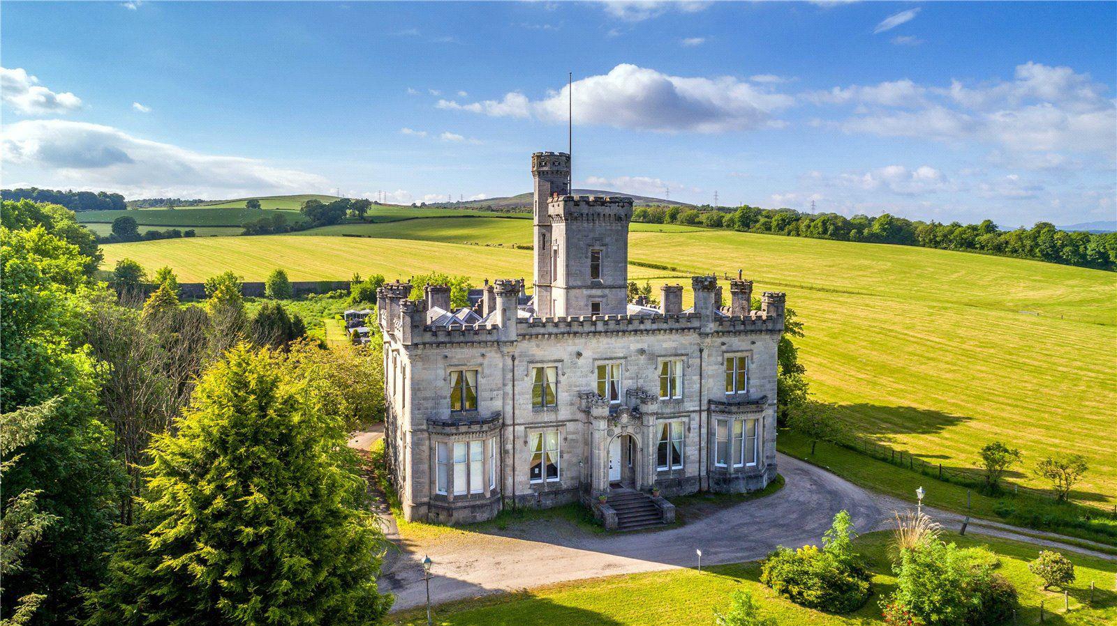 Gothic homes for sale: Dalmoak Castle, Dumbarton, Scotland