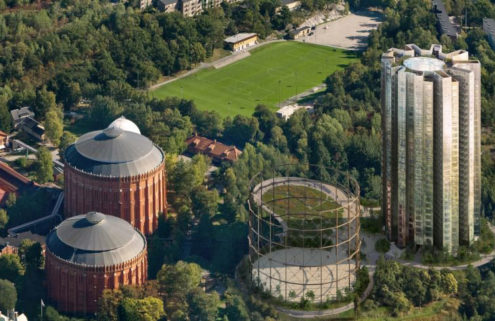 Herzog & de Meuron are turning Stockholm's gasworks into a gallery and homes