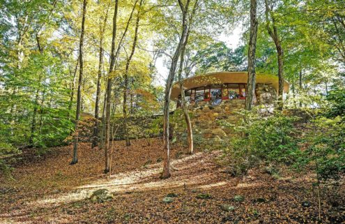 Property of the week: Frank Lloyd Wright's mushroom-like Sol Friedman House