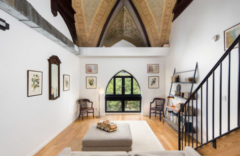 Converted church apartment asks for $3,925 per month in Bushwick