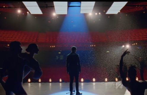 Sam Smith's new video goes behind the scenes of London Palladium