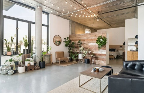 Long Beach loft in a former Masonic temple lists for $639k