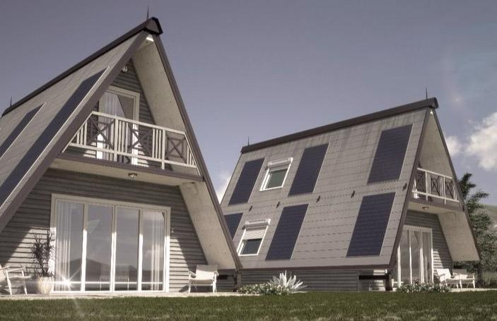 Folding prefab tiny home for sale