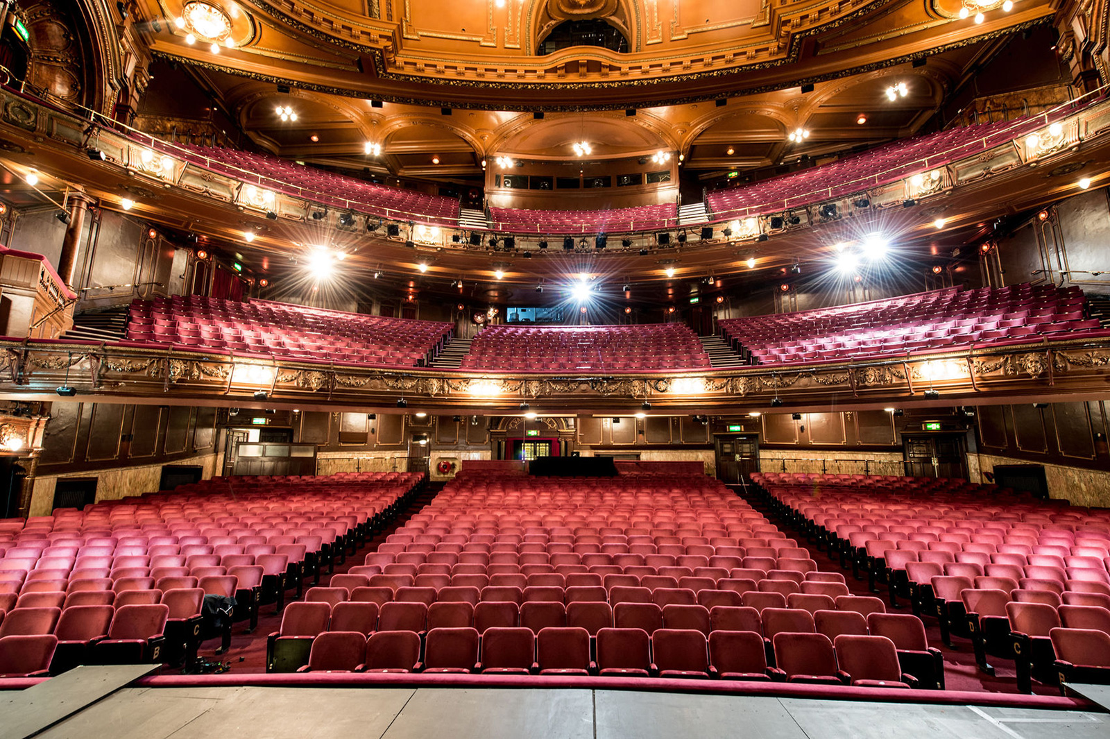 Interior of London's Palladium