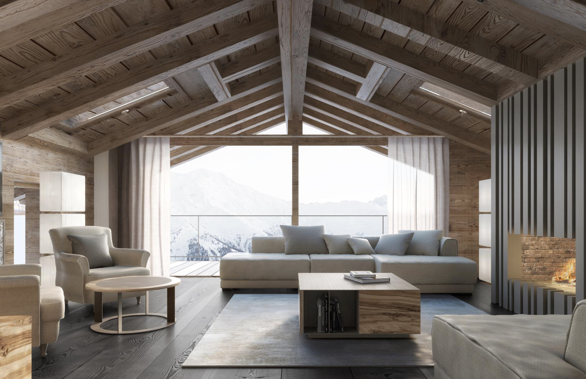 Ski Chalet Interior Design 5 striking ski chalets for sale in europe right now - the spaces