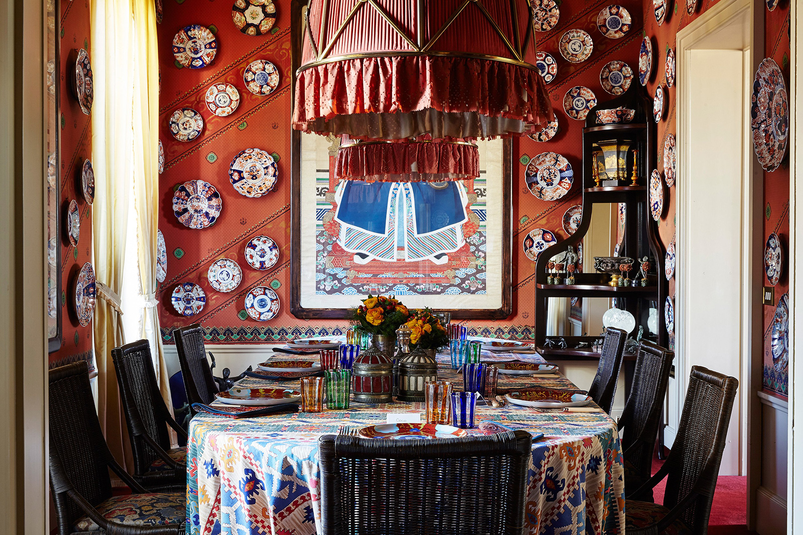 Cabana Magazine founder Martina Mondadori's dining room