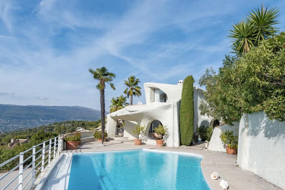 Jacques couelle landscape house for sale near Cannes