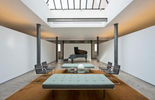 Minimalist concrete apartment lists for $11m in Manhattan