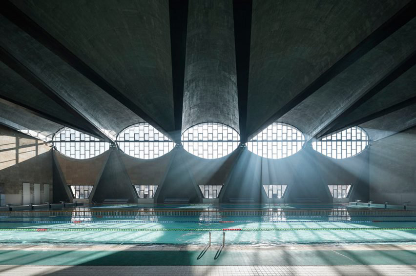 Architectural Photography Awards winner 2017: Terrence Zhang. Project: Swimming Pool, New Campus Tianjin University, China by Atelier Li Xinggang