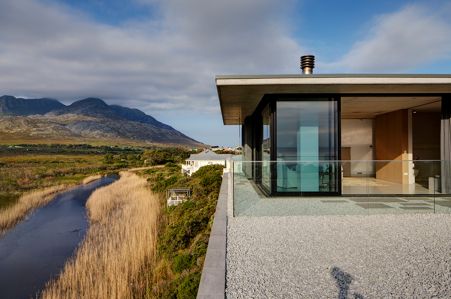 South Africa's Restio River House