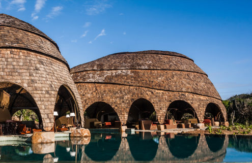 This Sri Lankan eco-resort is designed to look like boulders