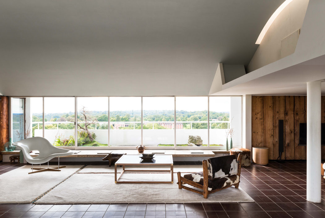 Berthold Lubetkin's penthouse