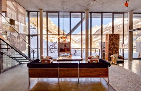 Holiday home of the week: an architect's chalet in Zermatt, Switzerland