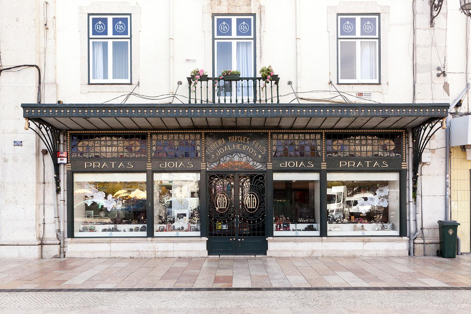 Lisbon heritage stores