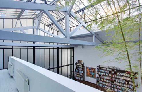 Property of the week: a glass-capped apartment in Paris