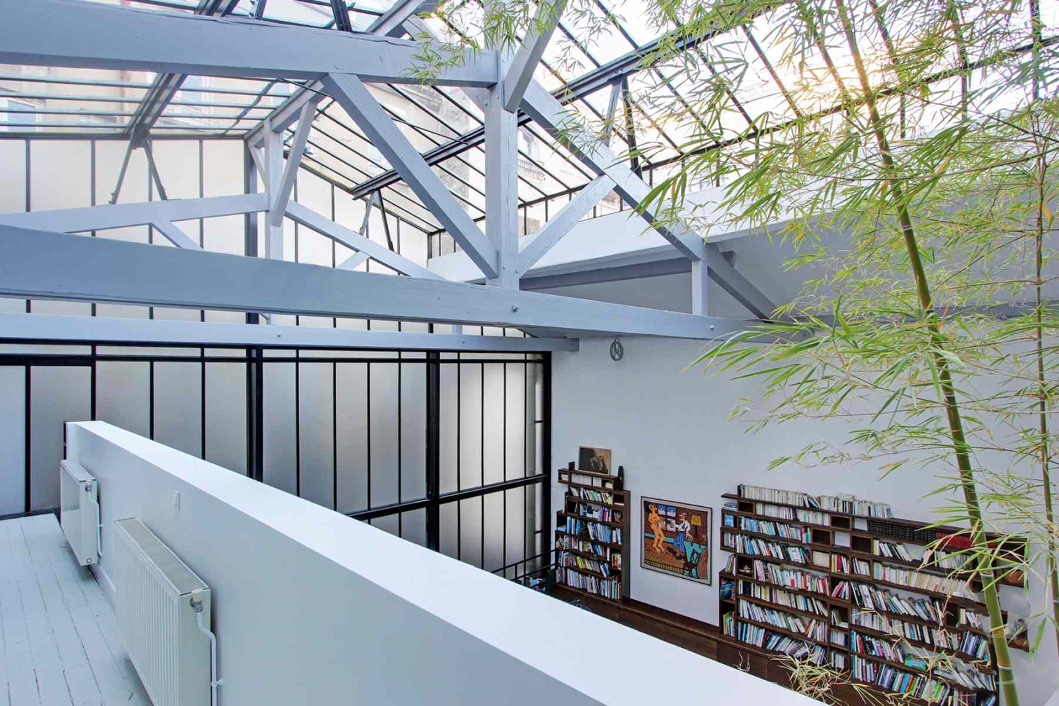 A loft apartment for sale in Paris