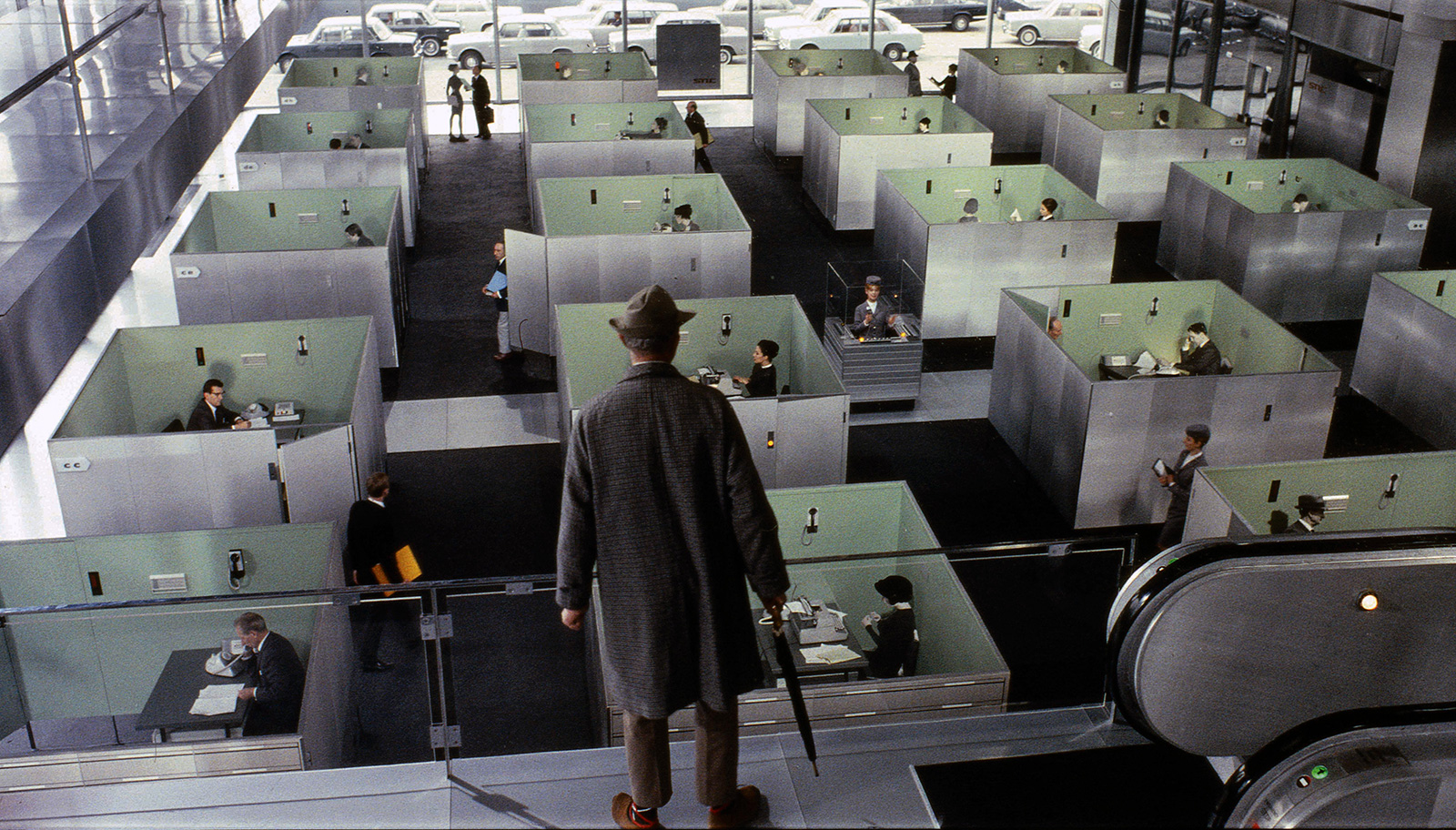 Jacques Tati's Playtime © 1967 / Les Films de Mon Oncle – Specta Films CEPEC. All rights reserved