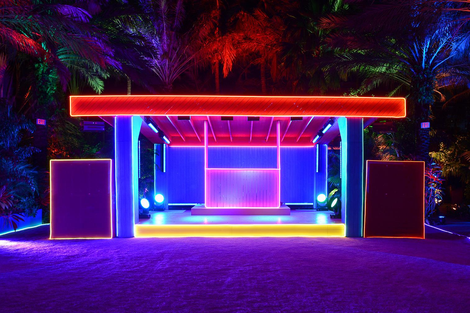 The Prada Double Club Miami by Carsten Höller. Presented by Fondazione Prada Miami, 5-7 December 2017. Photography: Casey Kelbaugh. Courtesy Fondazione Prada
