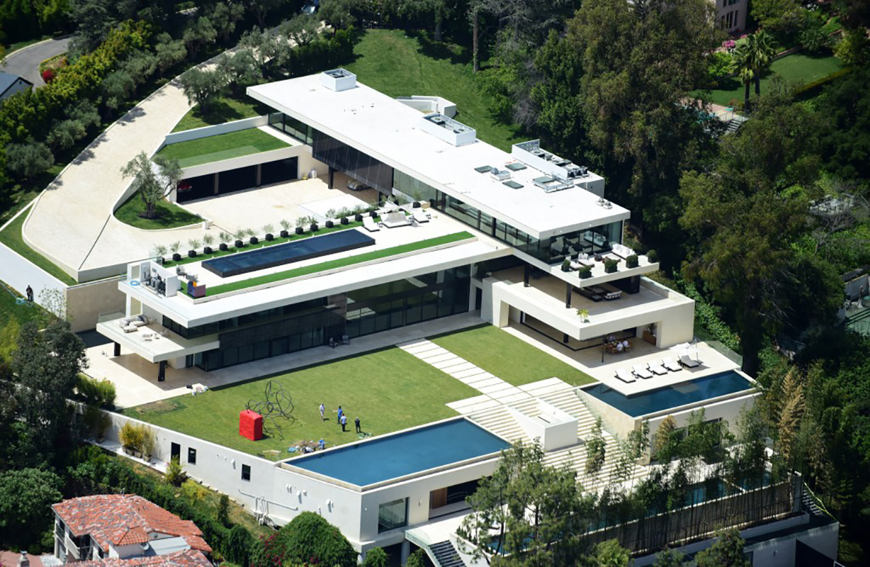 The Bel Air home reportedly bought by Beyoncé and Jay Z