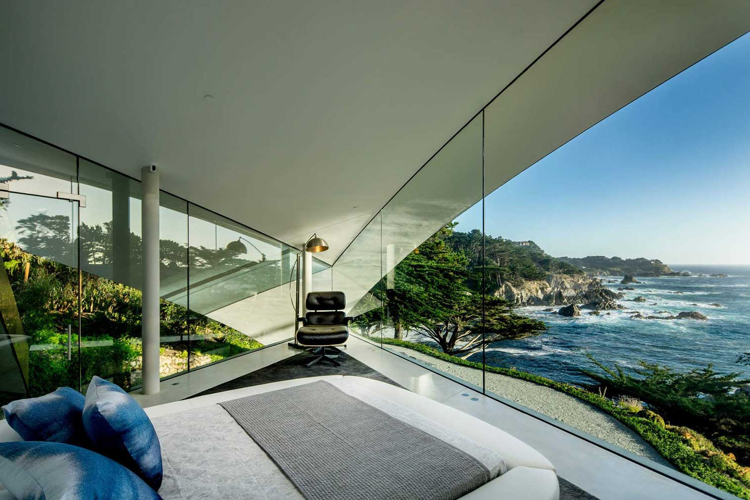 California property Butterfly' house by Wallace Cunningham
