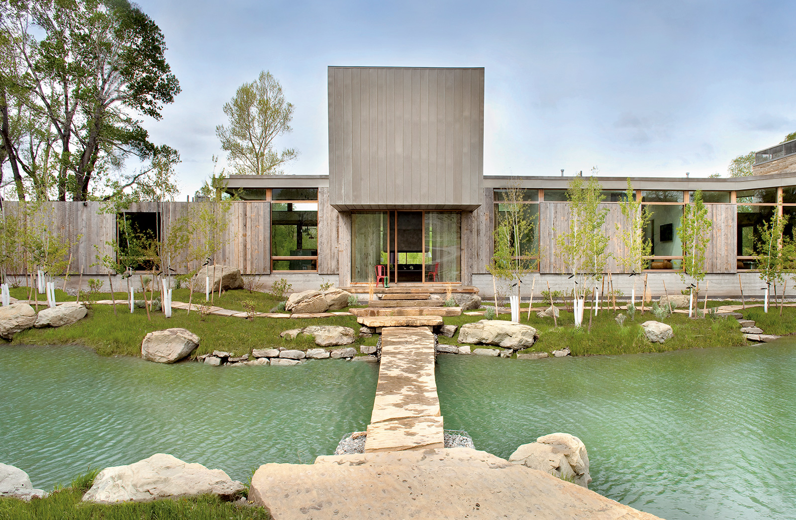 Living on water: Watershed Lodge by HUUM architecture