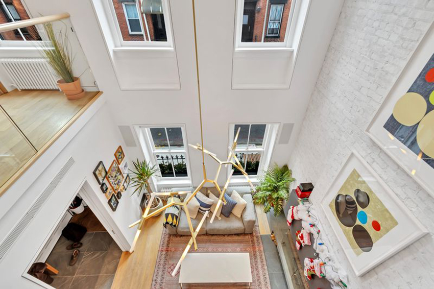 11 Filmore Place - restored townhouse for sale in Brooklyn