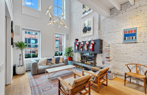 Whitewashed Brooklyn townhouse hits the market for $3.7m