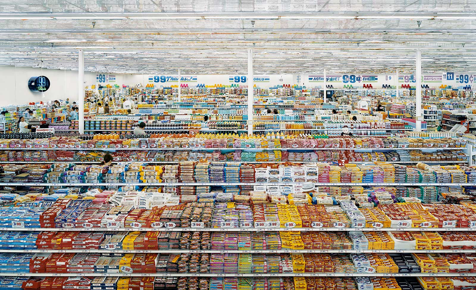 Andreas Gursky, '99 Cent II'