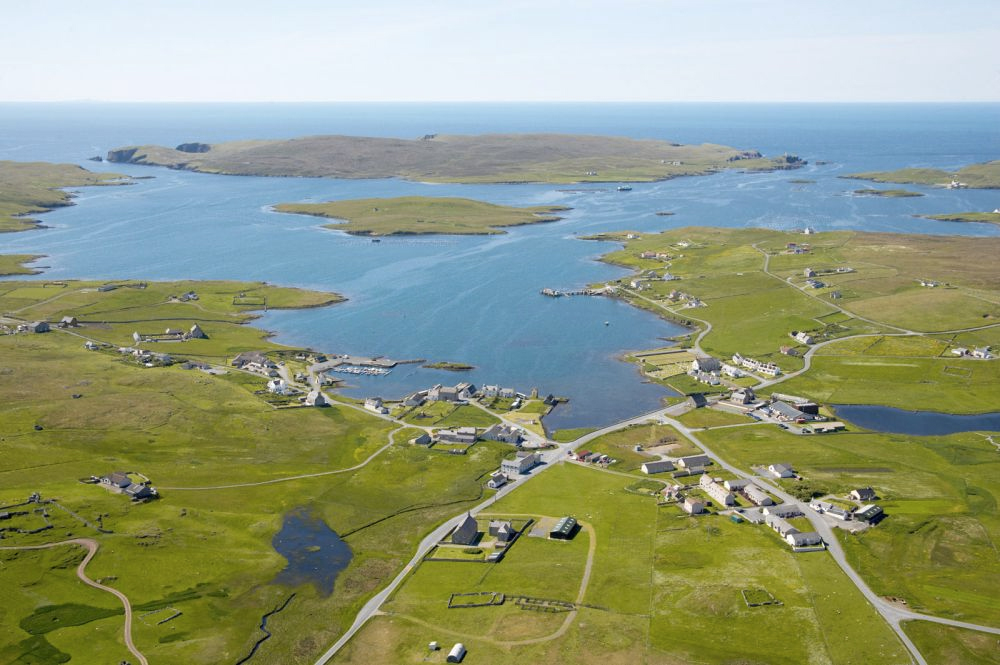 Linga Island, Shetlands