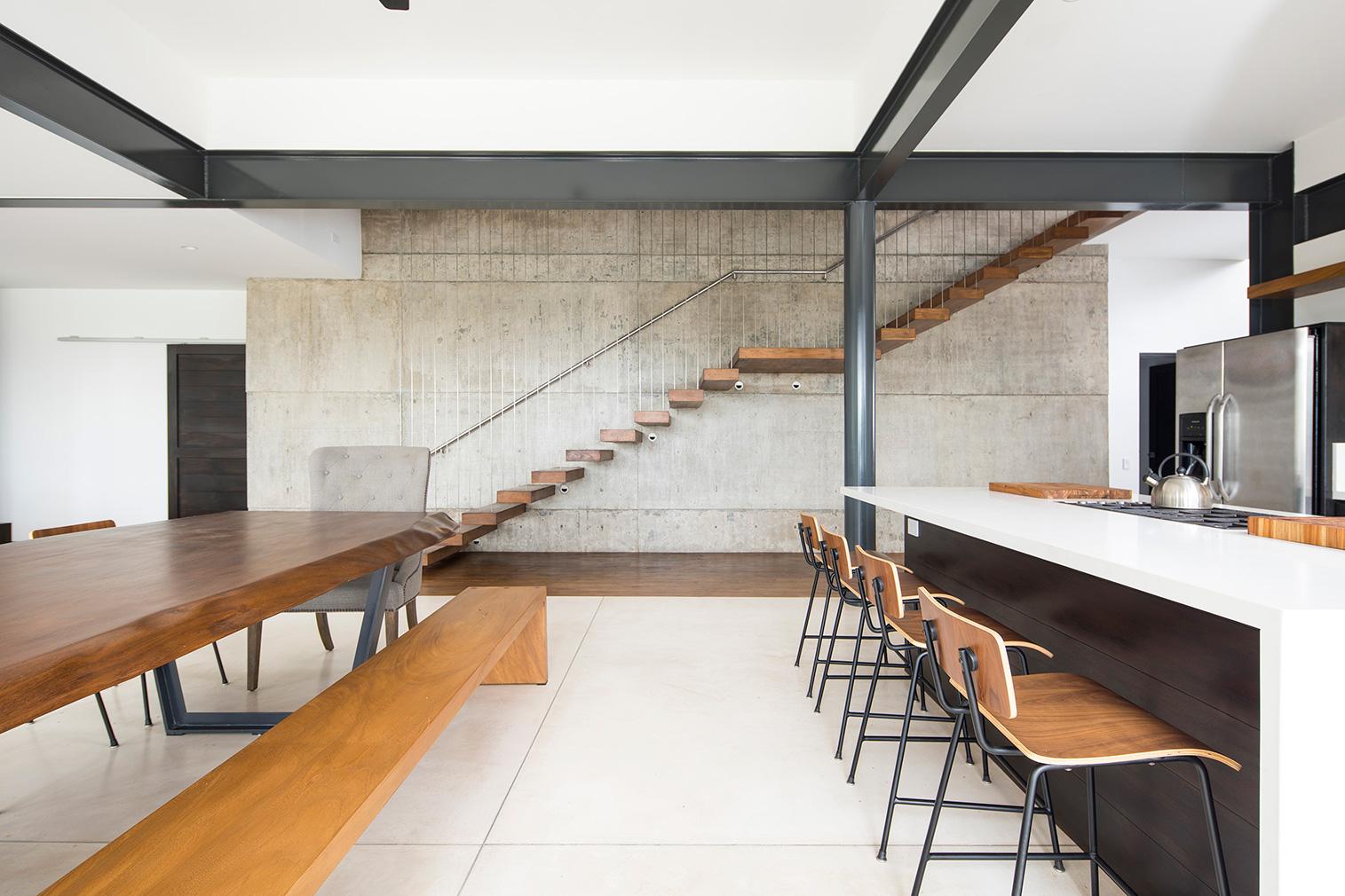 Casa Maleku designed by Studio Saxe for Joya Villas