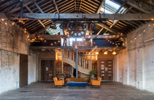 Property of the week: a converted warehouse in Brixton with an events space