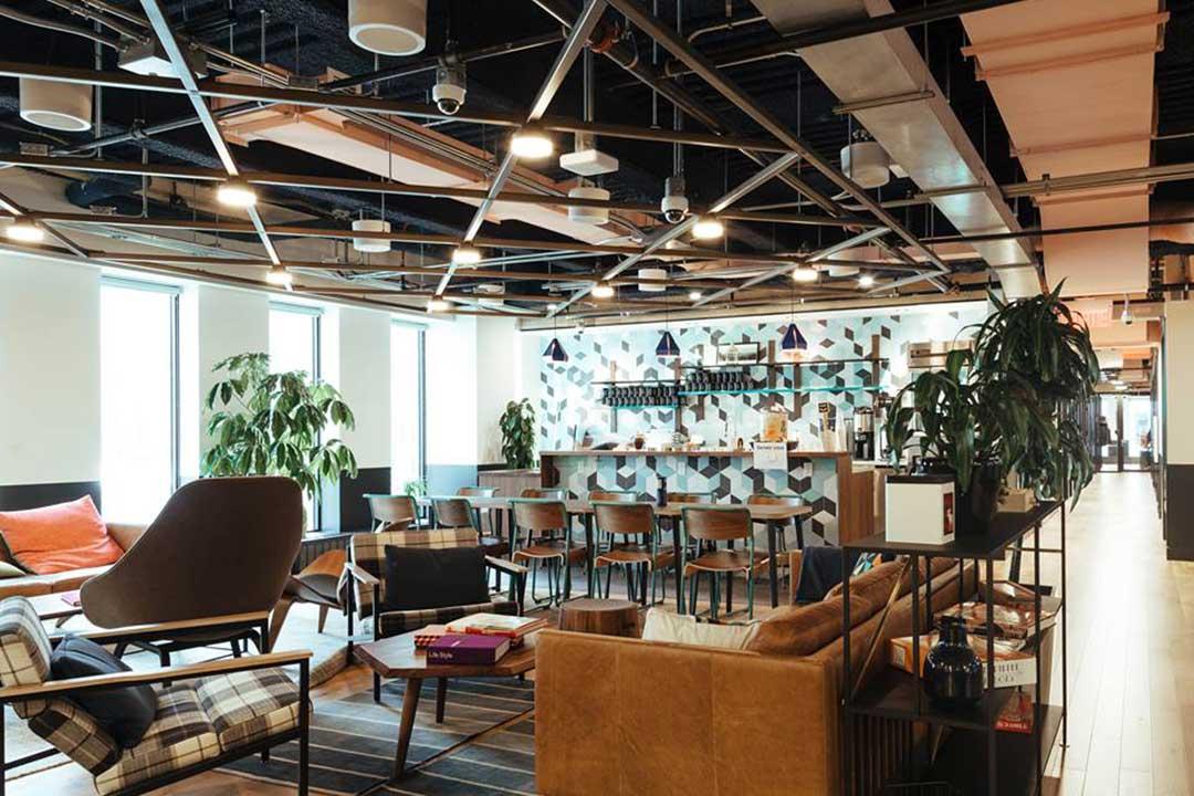 WeWork's coworking space in Toronto
