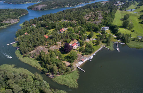 Greta Garbo's Swedish island retreat is for sale