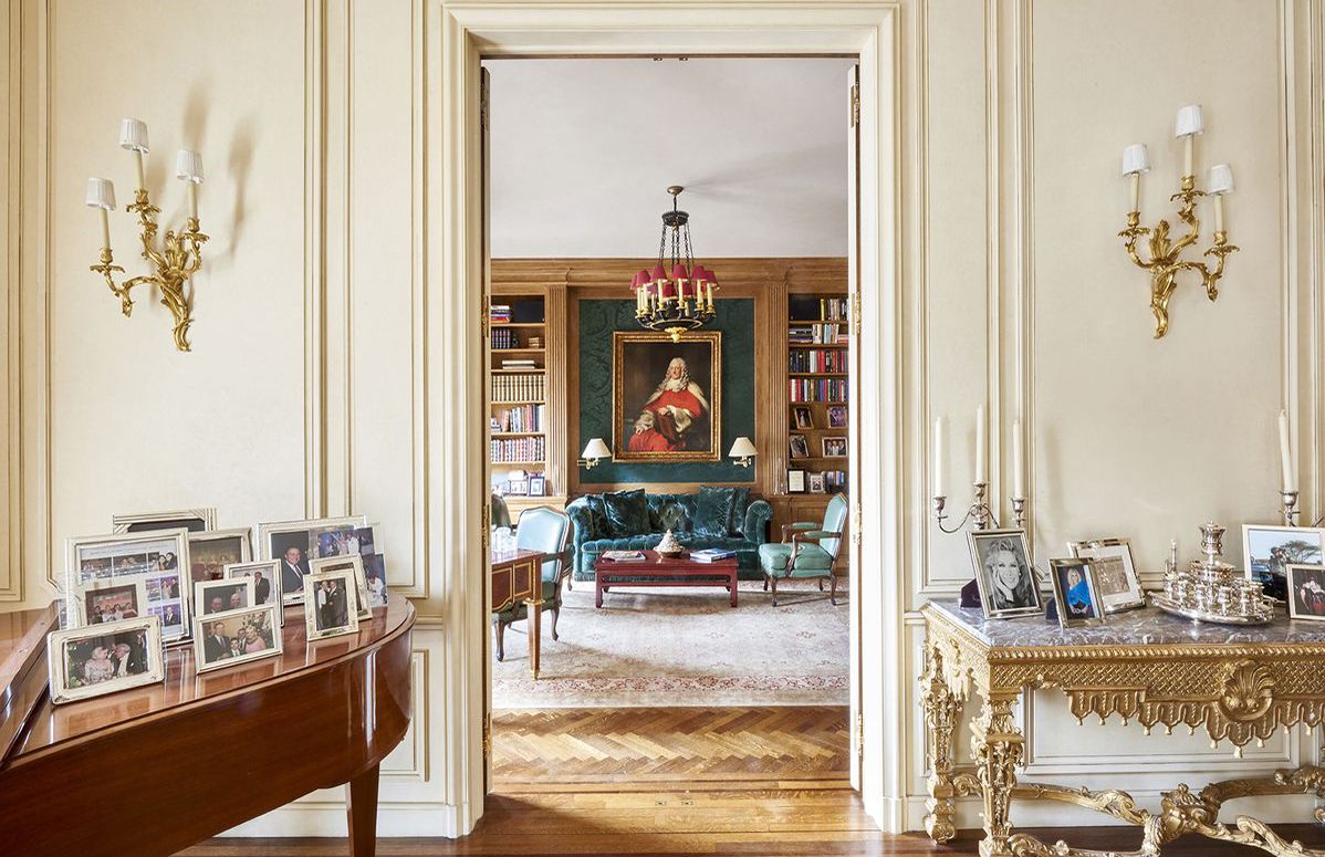 Pantone founder Lawrence Herbert's Manhattan apartment