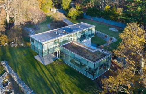 Cantilevered home in upstate New York lists for $4.9m