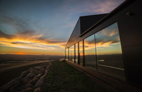 Secluded home at the base of a volcano is up for auction in Victoria, Australia