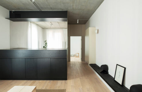 Thisispaper creates a minimalist holiday apartment in a Warsaw distillery