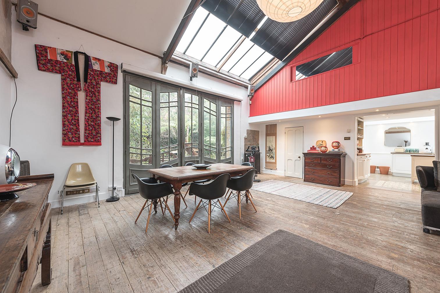 Former artist's studio for sale in London