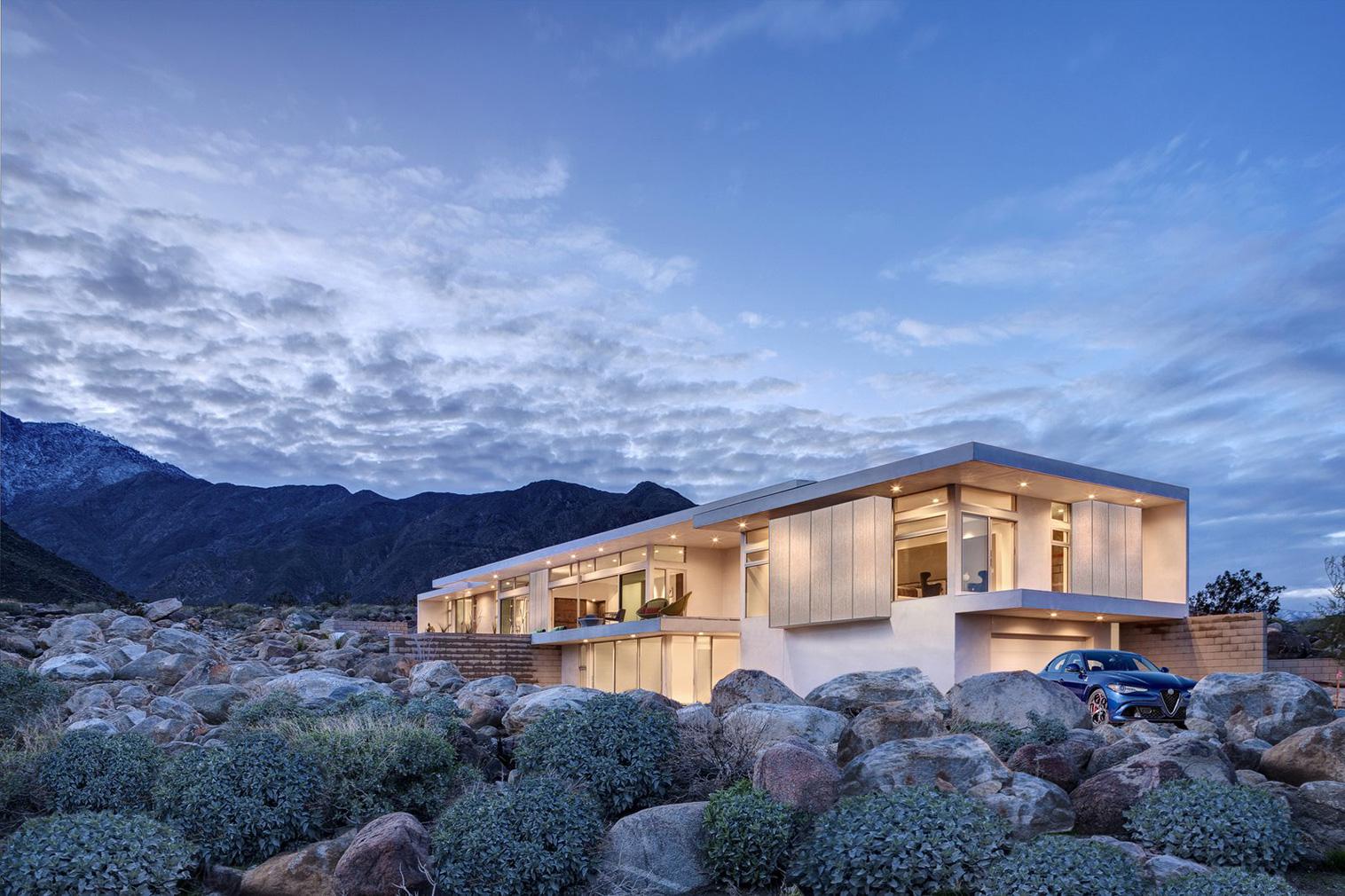 Contemporary Desert Modernism in Palm Springs