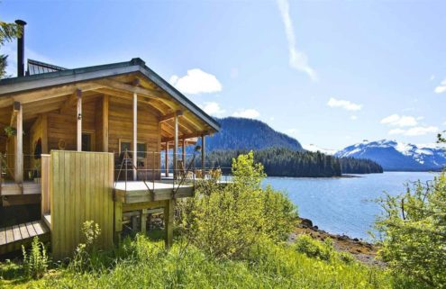 An island refuge in Alaska is on sale for $2.5m