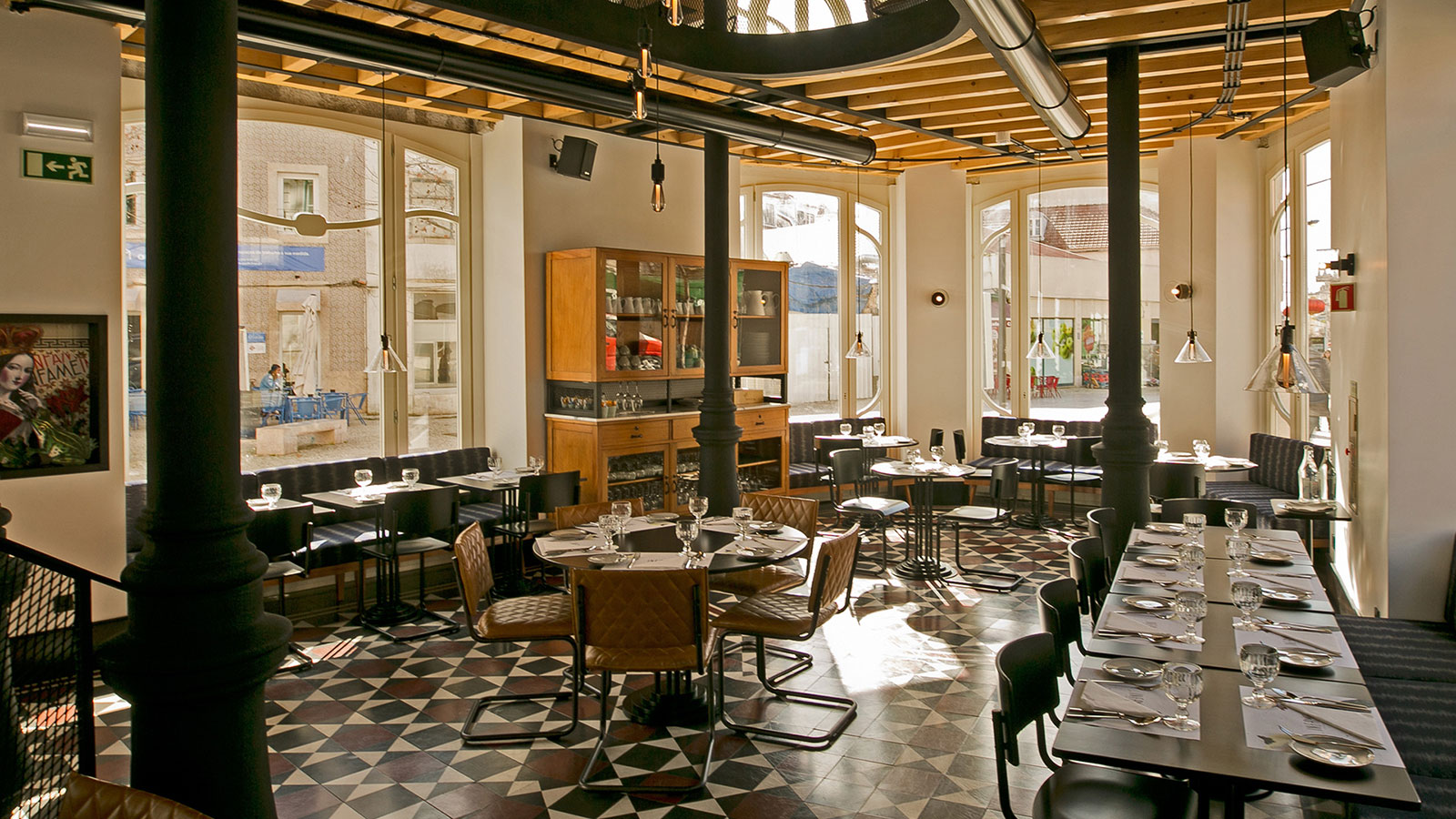Infame restaurant in Lisbon