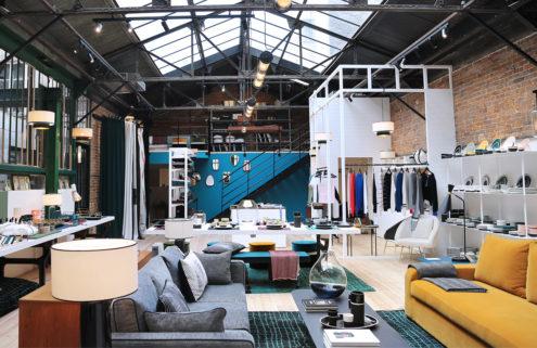 Sarah Lavoine opens a design store in a hidden Paris atelier