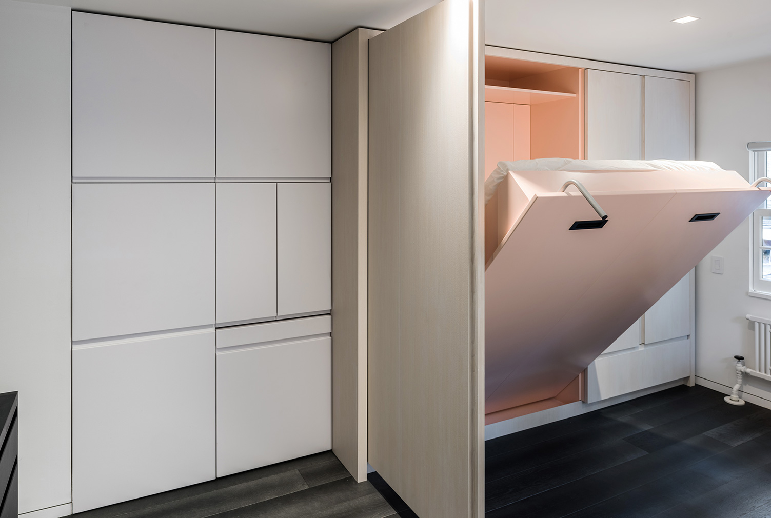 Micro home apartment designed by Michael Chen