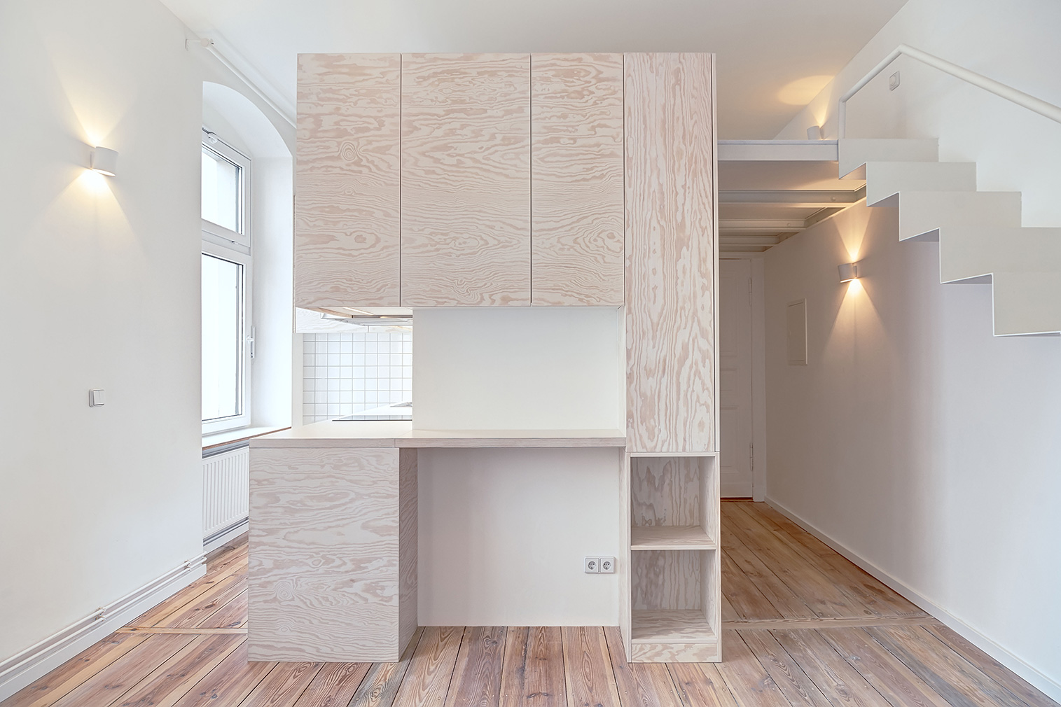 Micro home apartment designed by Paola Bagna