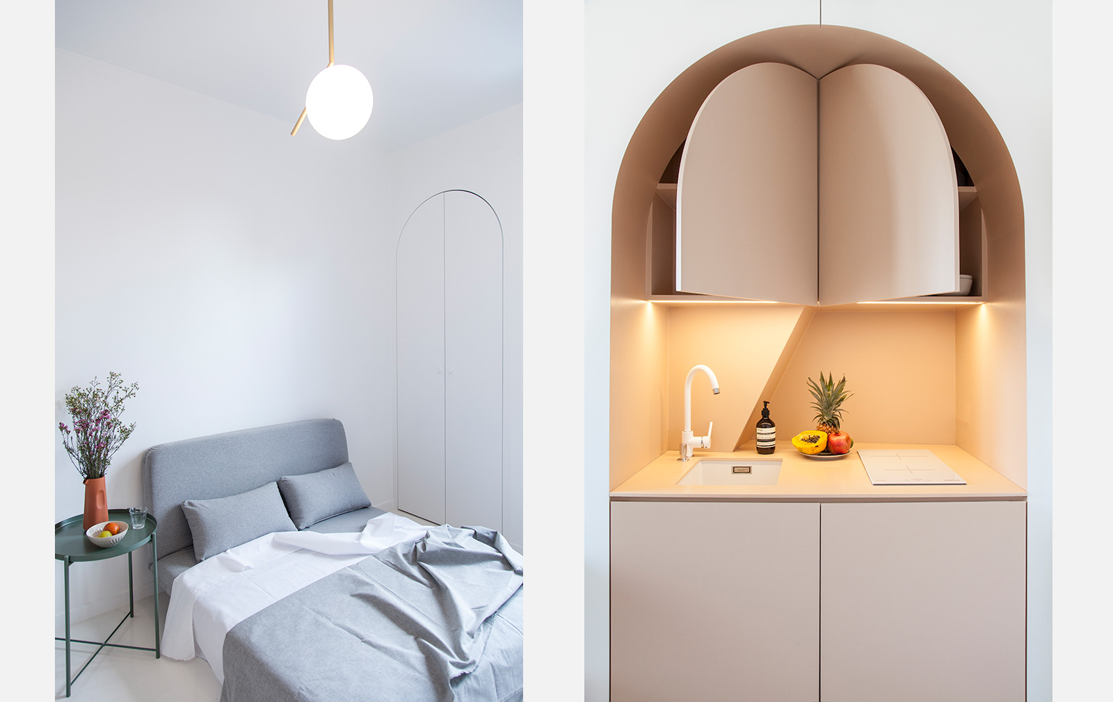 Micro home designed by Batiik