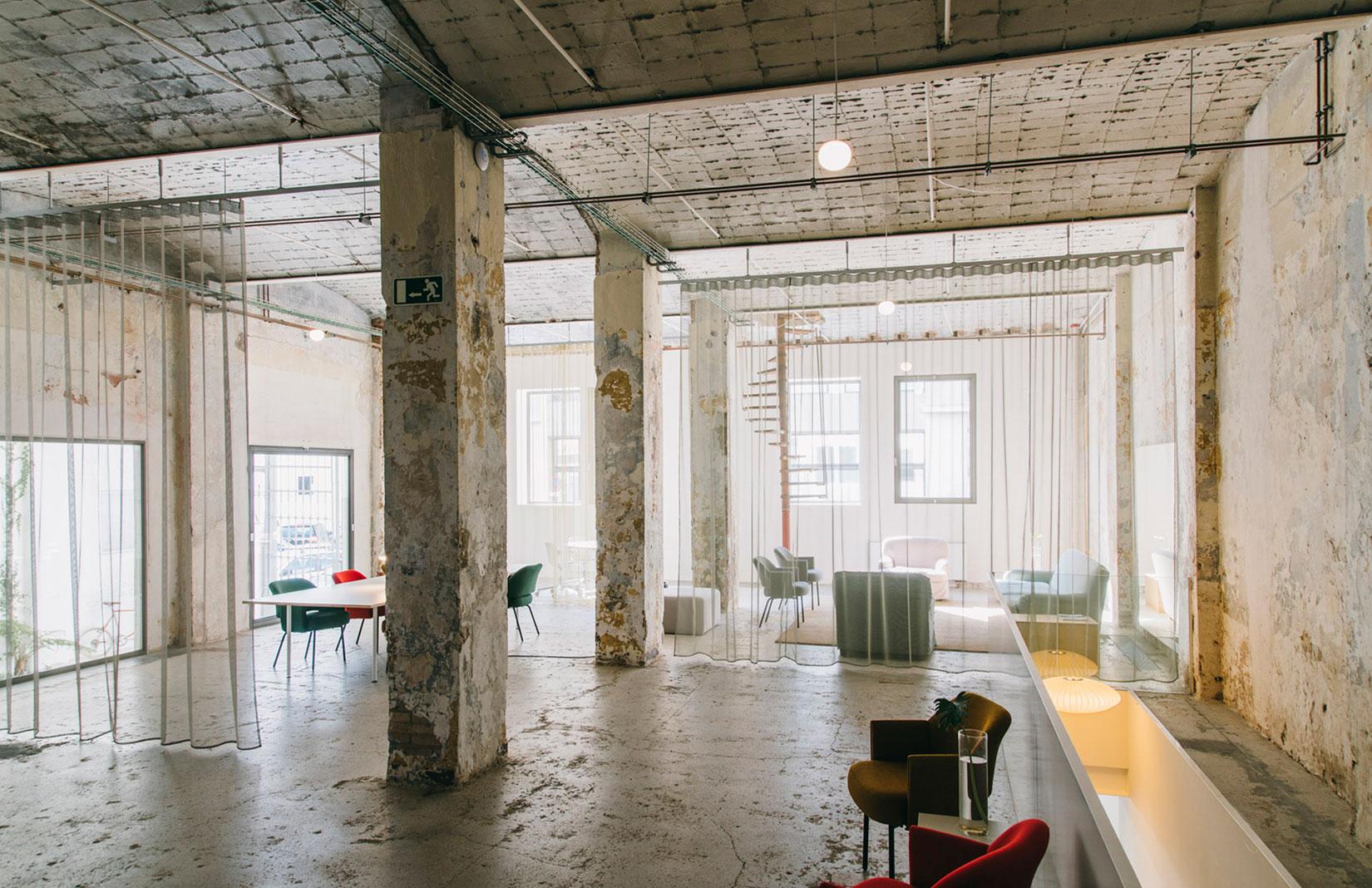 Montoya coworking space in Barcelona's Poblenou